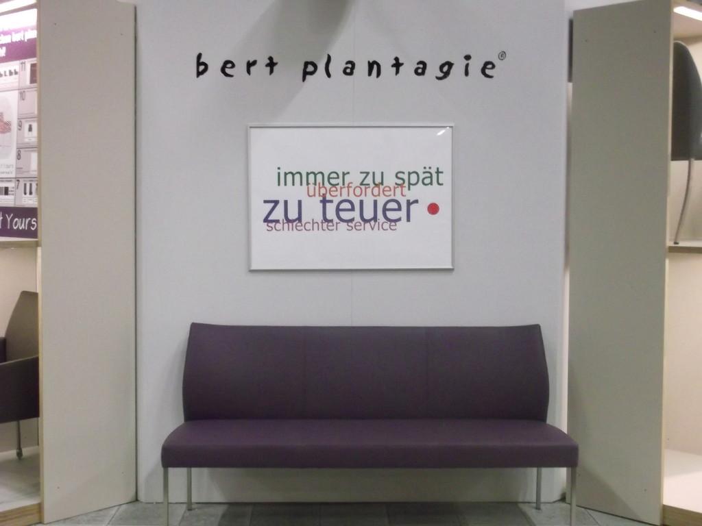 BERT PLANTAGIE | (Be-)Werbung mit Selbstironie