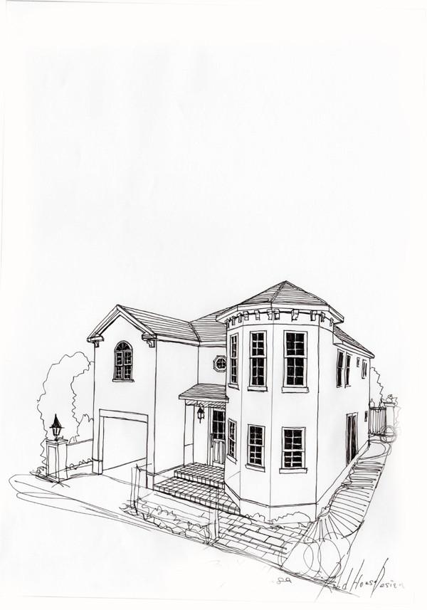 フレンチデザイン住宅