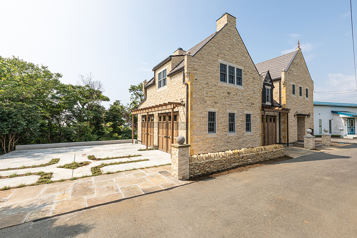 西洋デザイン住宅 建築パース