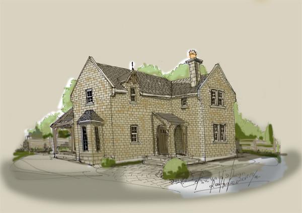 イギリスデザイン住宅