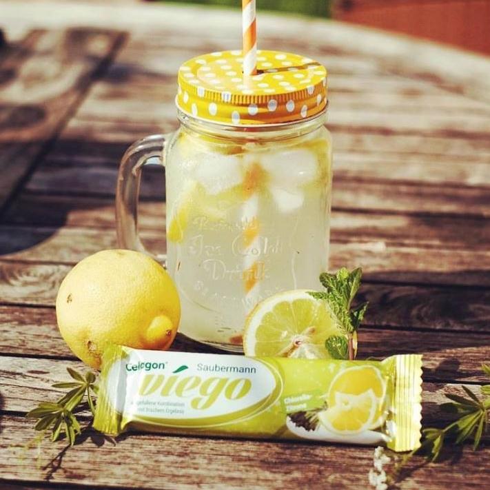 Der Cellagon viego Saubermann sorgt mit seiner Kombination aus Chlorella und Zitrone für ein erfrischendes coolmaritimes Geschmackserlebnis bei jedem Biss.