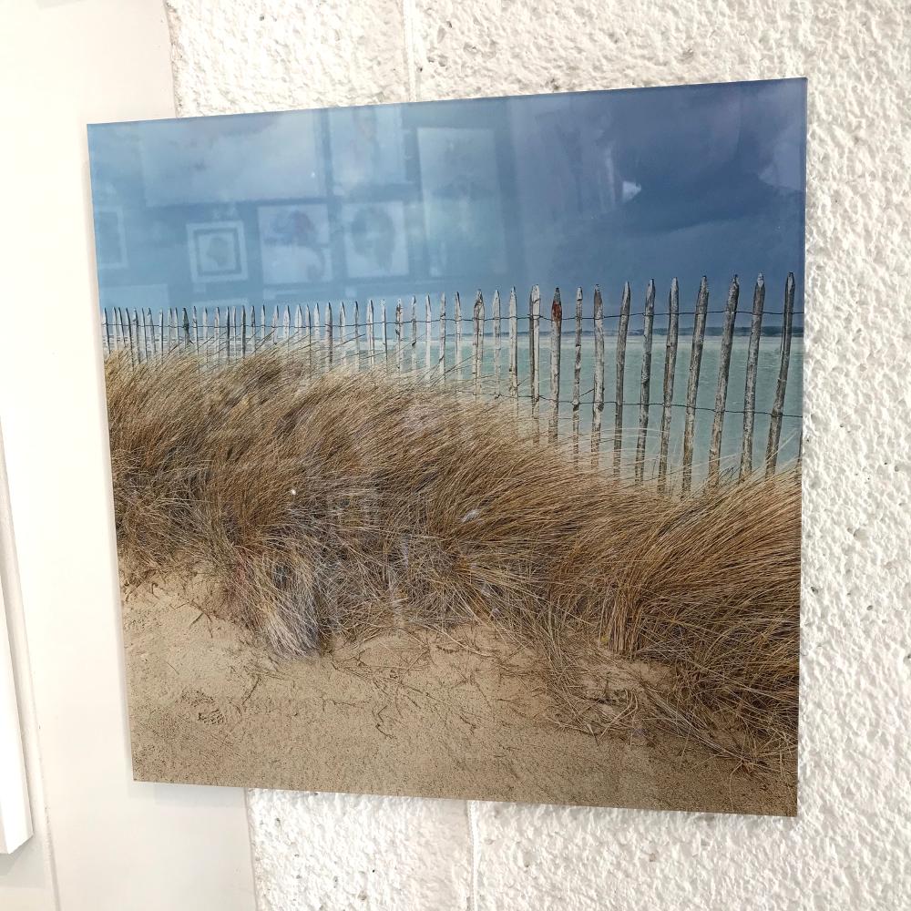 """""""Ganivelles"""", Georges Félix Cohen Photographie imprimée sur plexiglas Format 30 x 30 cm Prix : 30€"""