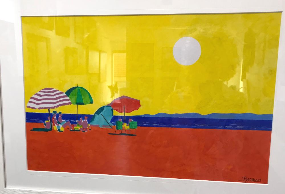 Roscan 16 h acrylique Galerie du 1er Oléron