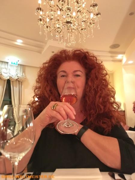 Erst mal etwas Champagner