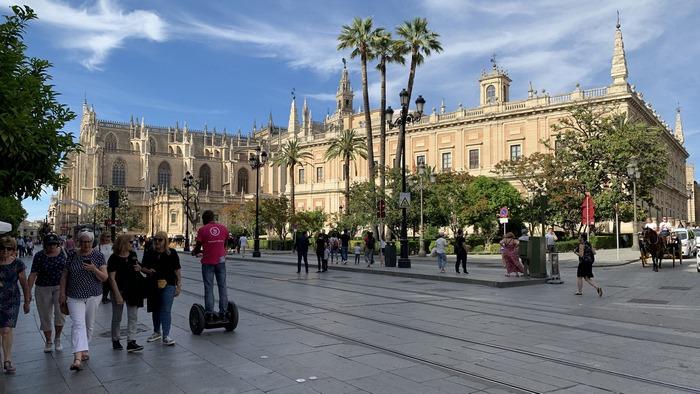 die Catedral Santa Maria ist die größte gotische Kathedrale der Welt