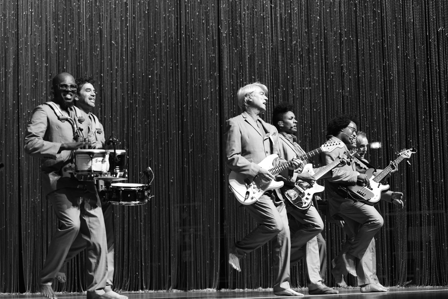 DAVID BYRNE BAND