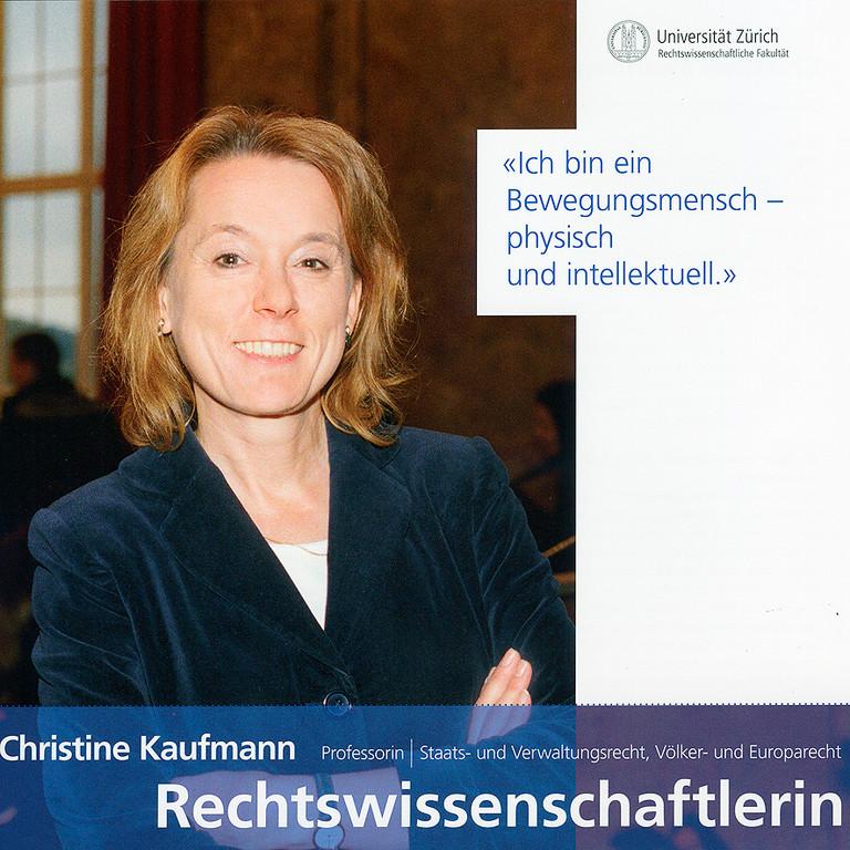 Universität Zürich Folder 2010 (Gleichstellungsbüro)