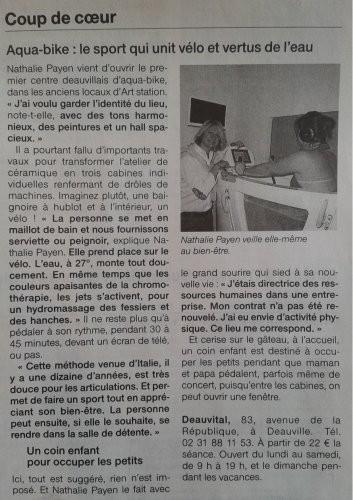 information-presse-deauvital-massage, aquabike-basse-normandie-14, institut-bien-être-deauville, centre-de-massage-deauville, salon-de-massage-professionnel-normandie