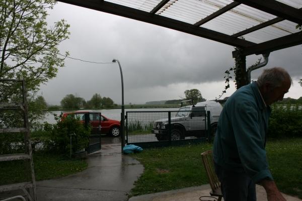 ....und das Wetter spielte leider nicht mit.....