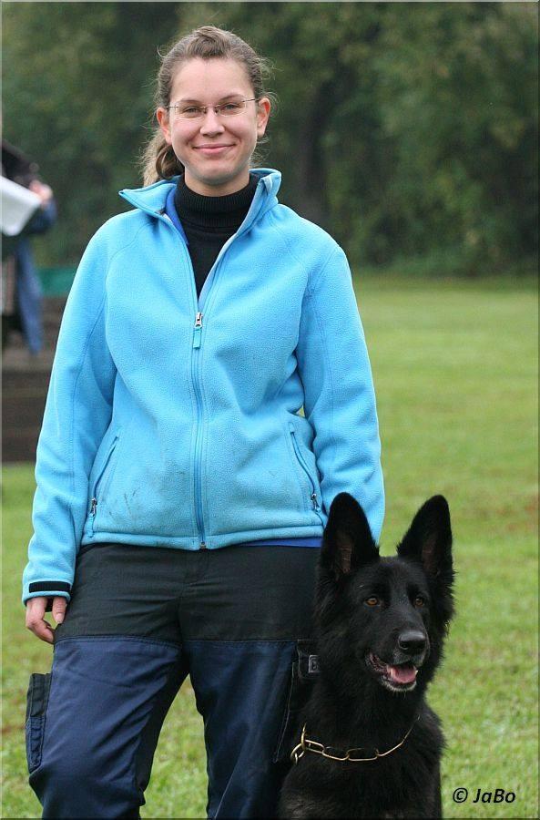 Stefanie Brunner mit Delva