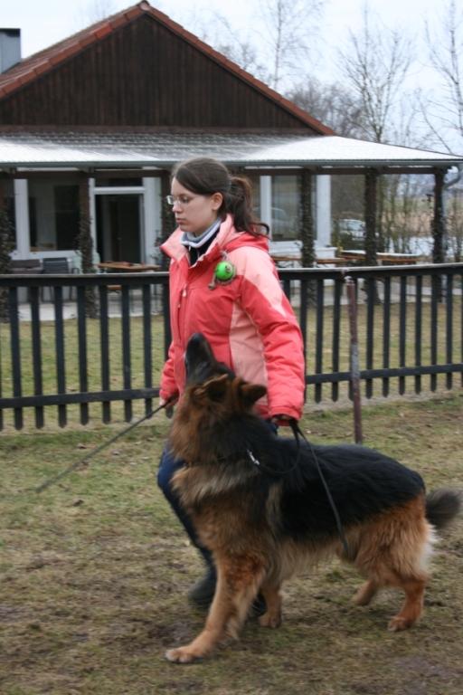 Stefanie Brunner mit Xeno