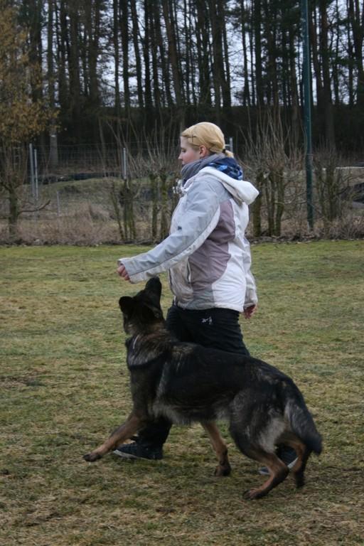 Janina Obergfell und Vee