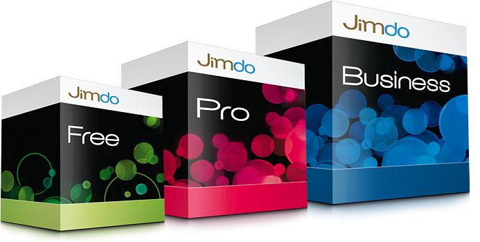 Jimdo® Pakte