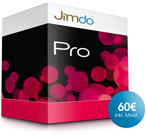 JimdoPro Edition