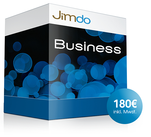 JimdoBusiness Edition