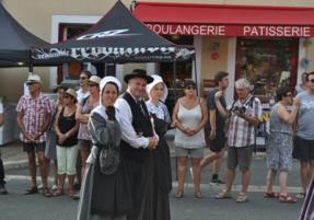 félibrée lou bournat périgord groupe folklorique ménestrels sarladais