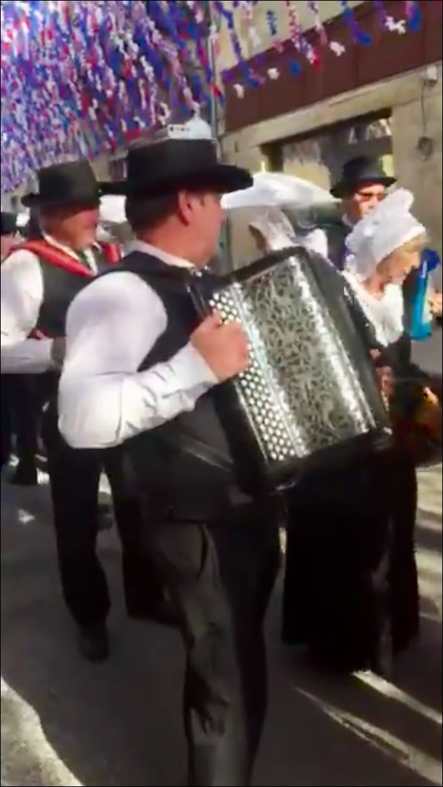 musique traditionnelle occitane à la félibree accordéon
