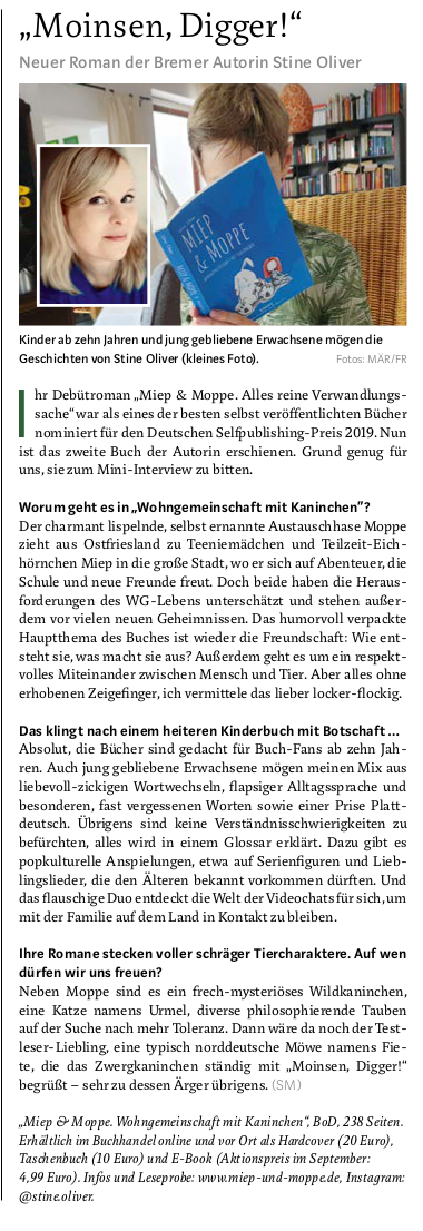 Stadtmagazin Bremen (September 2020)