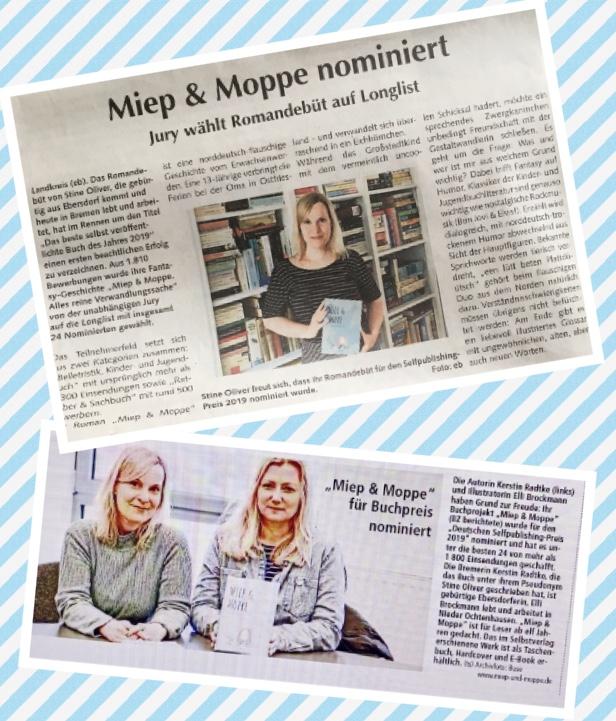 """""""Miep & Moppe"""" nominiert für den DSPP 2019"""