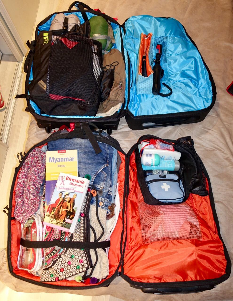Les bagages de Chouchou et Loulou 😊