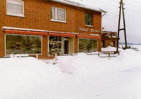 Da soll sich heutzutage mal jemand über Schnee aufregen, so sah es 1978 aus!