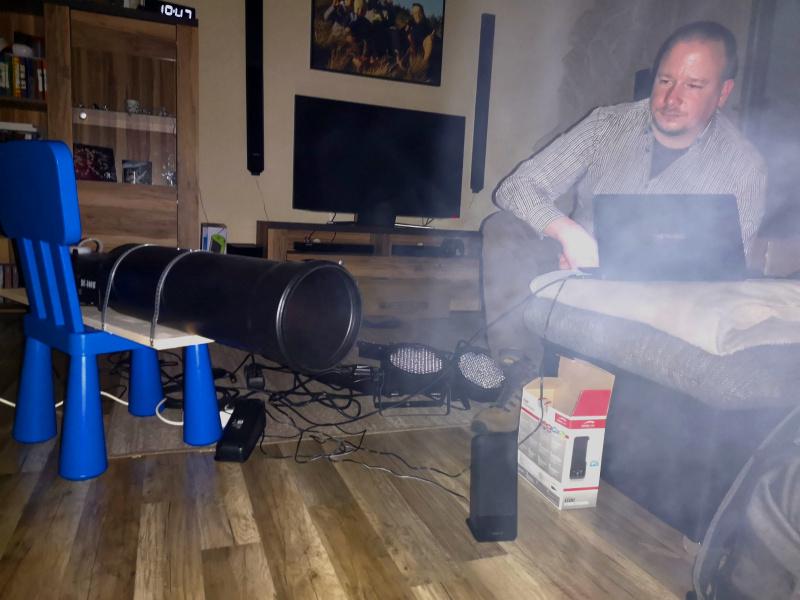 Mitte März war der Kanonen-Prototyp fertig