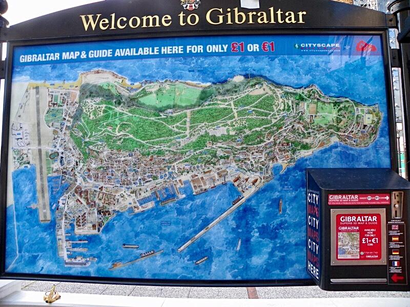 Gibraltar Sehenswurdigkeiten Karte.Teil 9 Gibraltar Wohnmobil Reiseberichte Mit Unserem