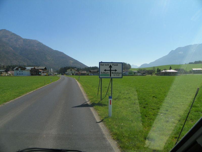 bei Rußbach gehts links ab zum Schwarzensee