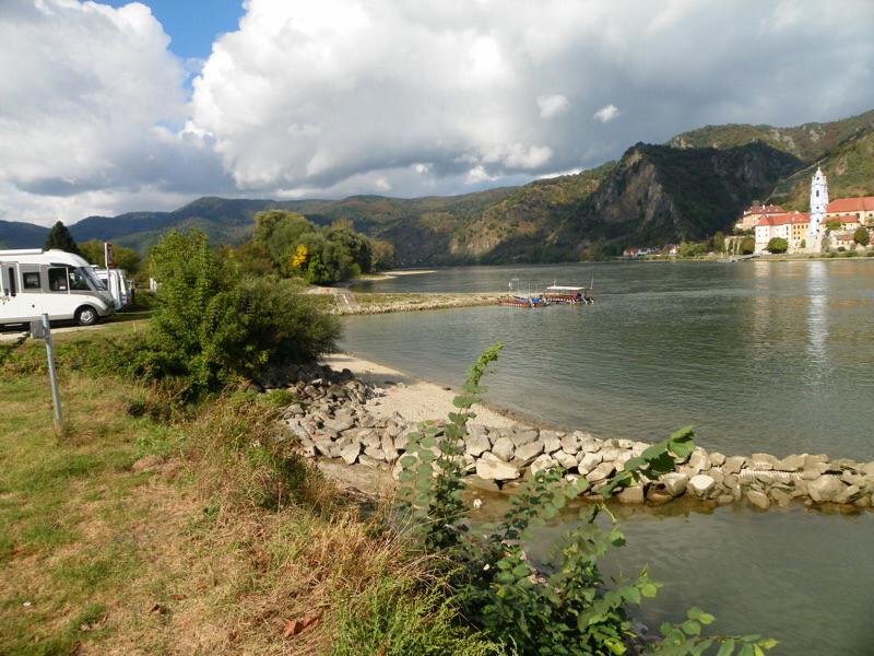 Donau Badestrand des CPs
