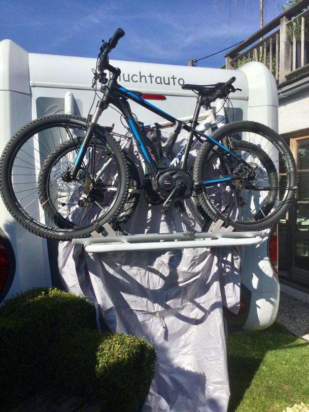 Hülle speziell für e-bikes, da diese größer sind.