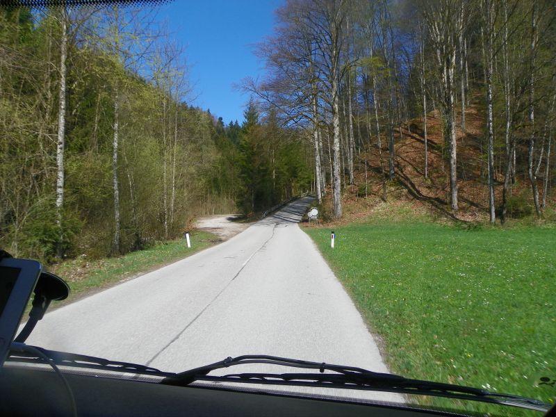narürlich finden wir auch auf dieser Reise eine kleine Bergstraße ;-)