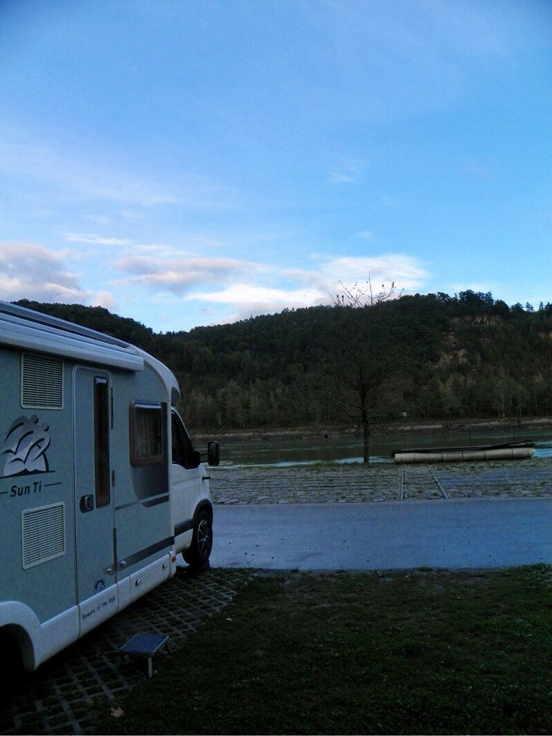 direkt an der Donau