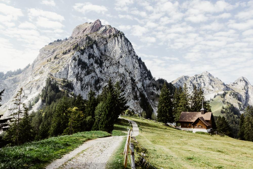 Holzegg mit grossem und kleinem Mythen