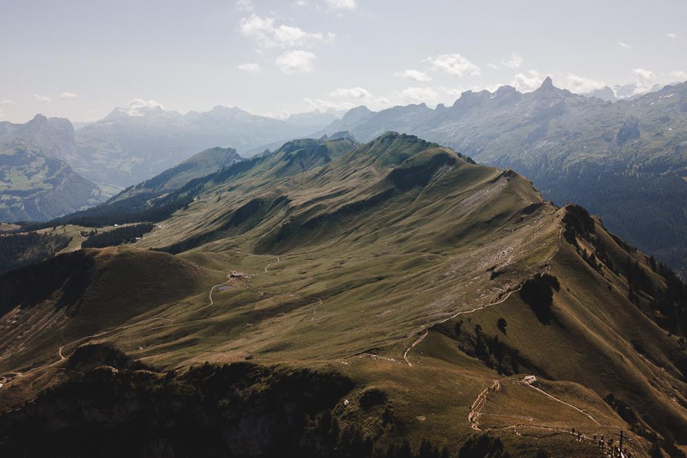 Gratwanderung Berge Stoos