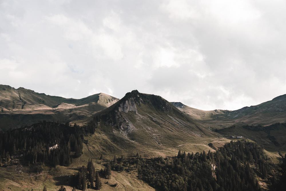 Berge auf dem Stoos
