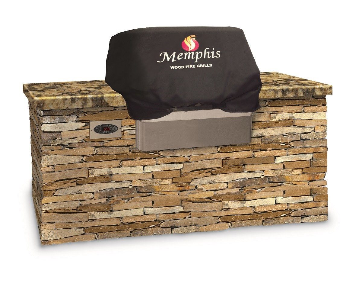 Grillabdeckhaube für Pelletgrill Memphis Elite Built-In