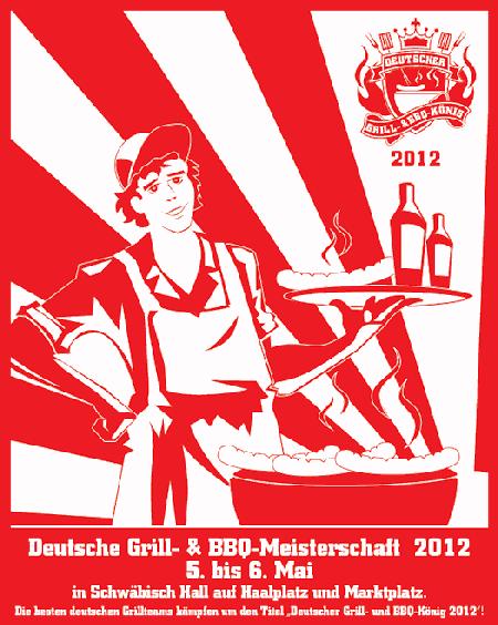 32 Teams aus ganz Deutschland grillten am Sonntag, dem 06. Mai 2012, auf der Deutschen Grill- & BBQ-Meisterschaft 2012 um die Wette.