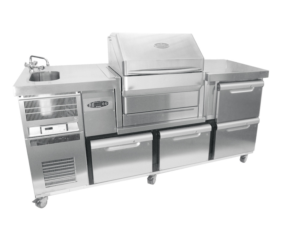 Pelletgrill Memphis Pro Built-In 304/V2A