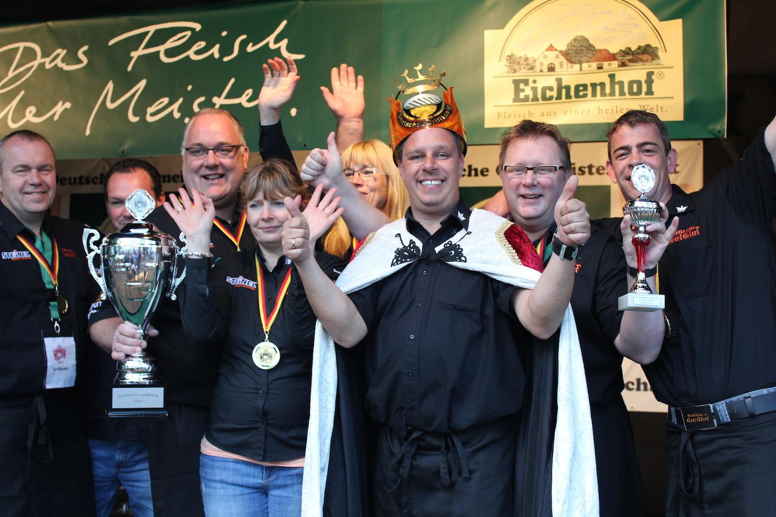 Deutscher Grill- & BBQ Meister der Profis 2013 mit Memphis Grills
