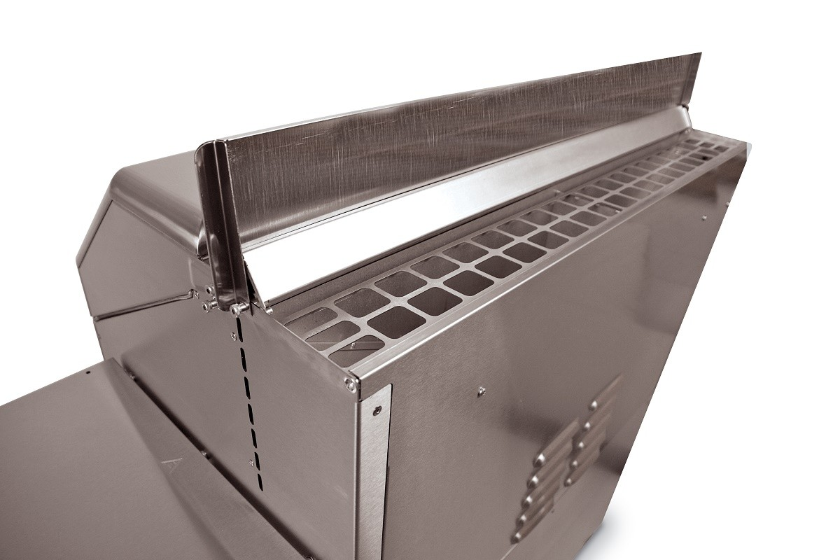 Pelletgrill Memphis Elite 304/V2A, Pelletvorratsbehälter