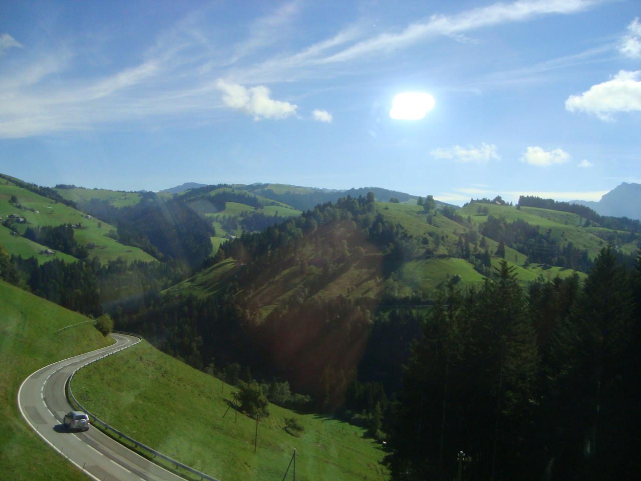 Fahrt nach Schangnau