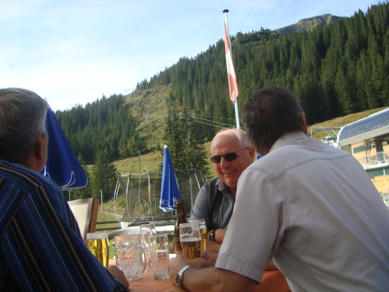 Terrasse des Restaurant Winteregg