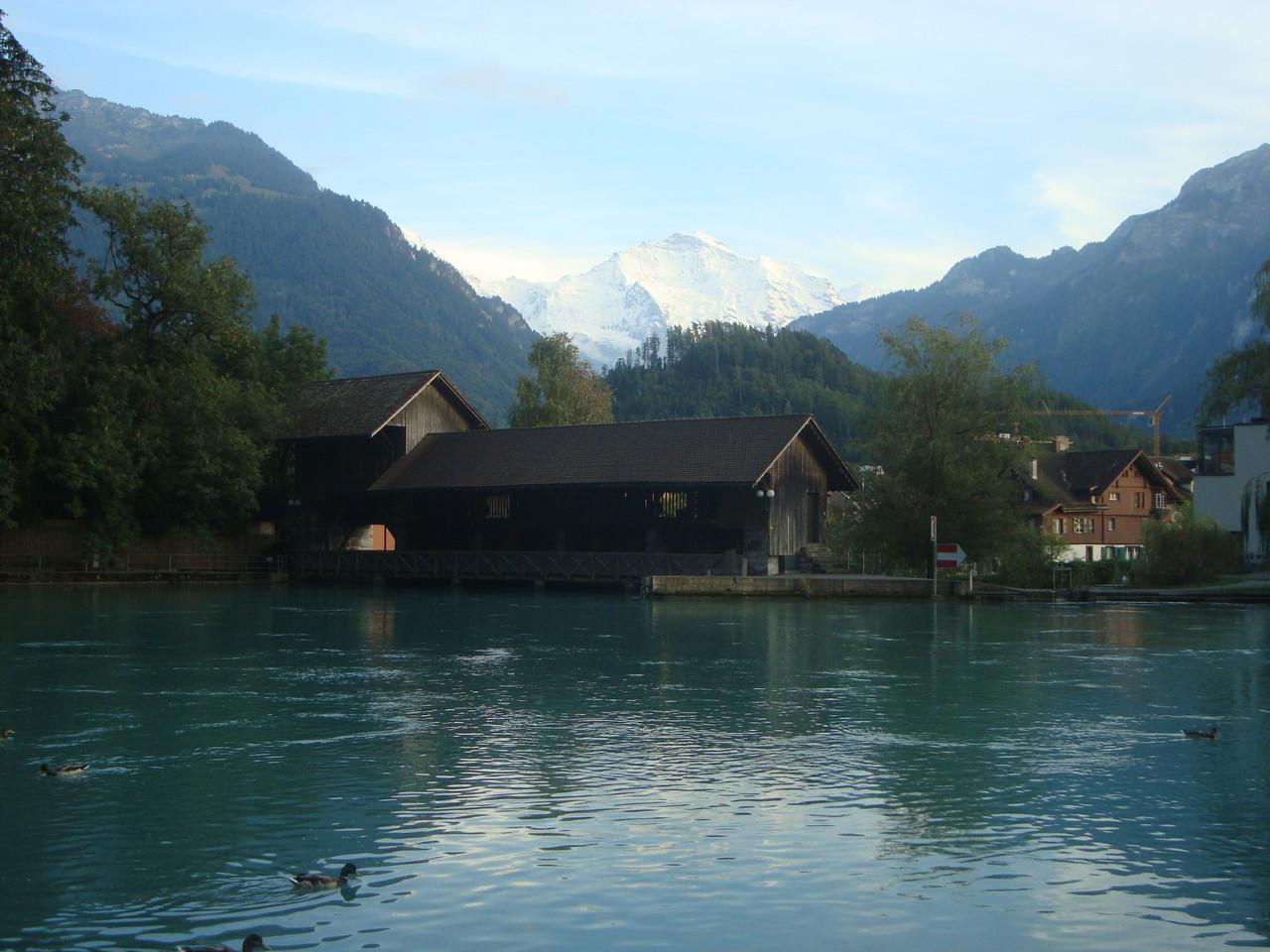 Interlaken mit Jungfrau