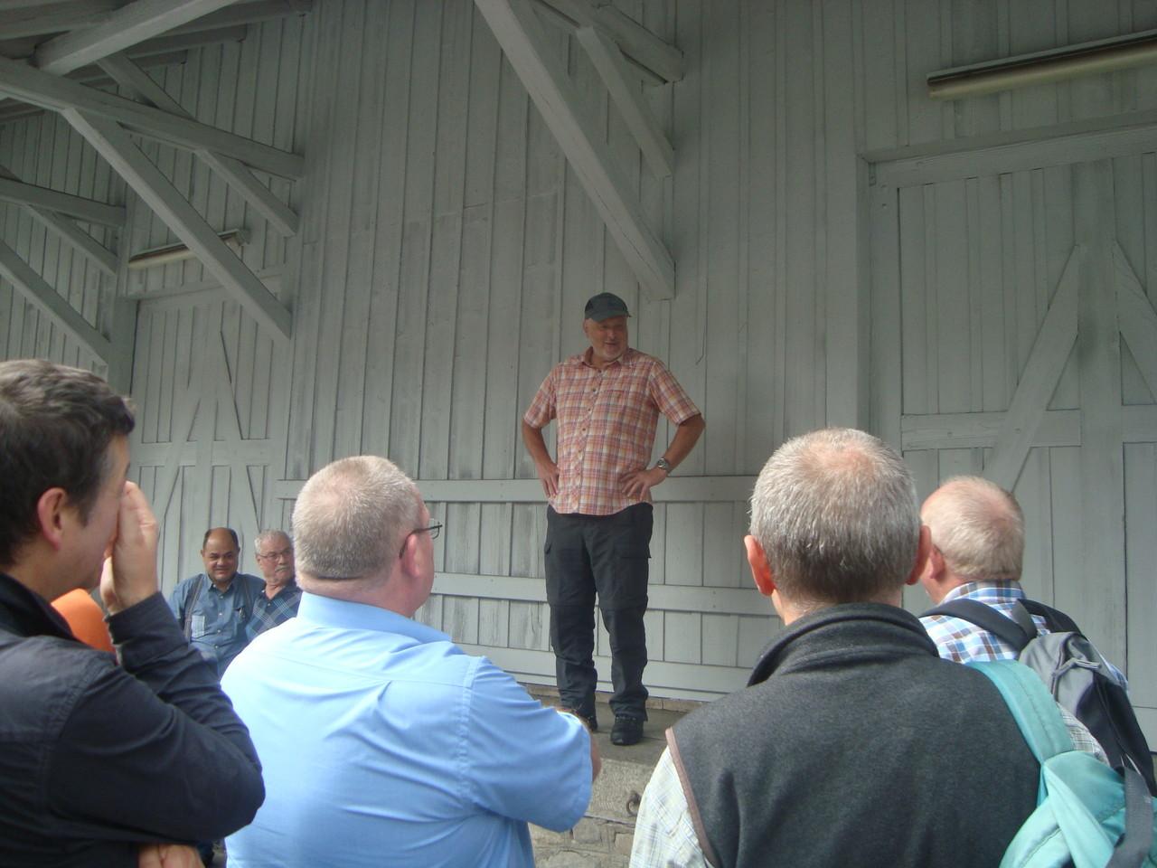 Exkursion mit Urs Portmann in Entlebuch