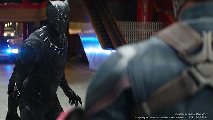<b>VFX for FEATURE FILMS</b> <i>' Captain America: Civil War ' </i> at Trixter