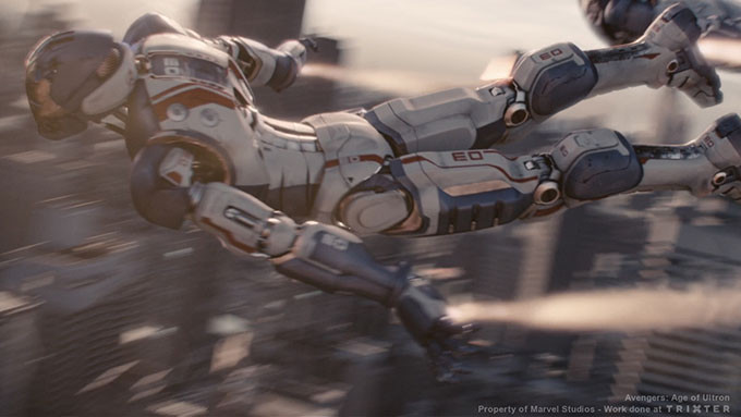 <b>VFX for FEATURE FILMS</b> <i>' Marvel's The Avengers 2: Age of Ultron ' </i> at Trixter