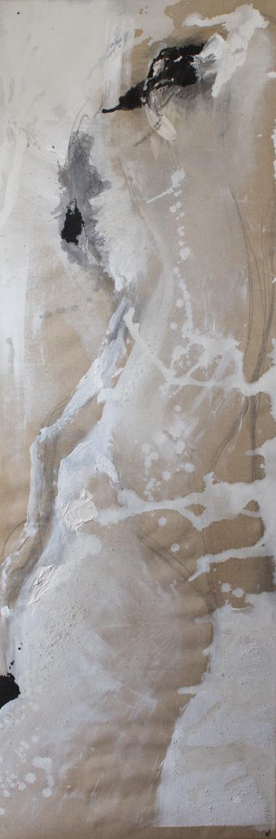 Les Danaïdes 2 - 1m65 x55 cm 2012
