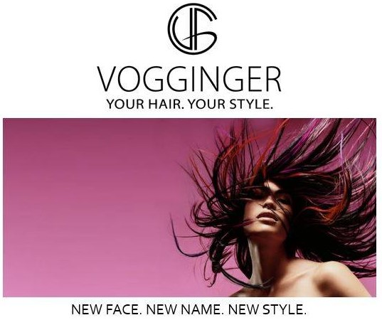 """Vogginger, Your Hair Your Style"" Marken-Branding"