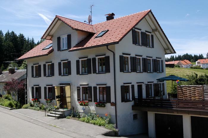 Ferienwohnung Scheidegg | Unser Haus