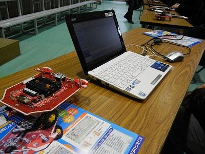 パソコンからロボットプログラミングTJ3Bにプログラムをビルド